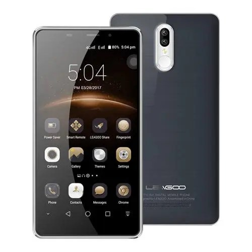 geekbuying Leagoo M8 Pro MTK6737 1.3GHz 4コア GRAY(グレイ)