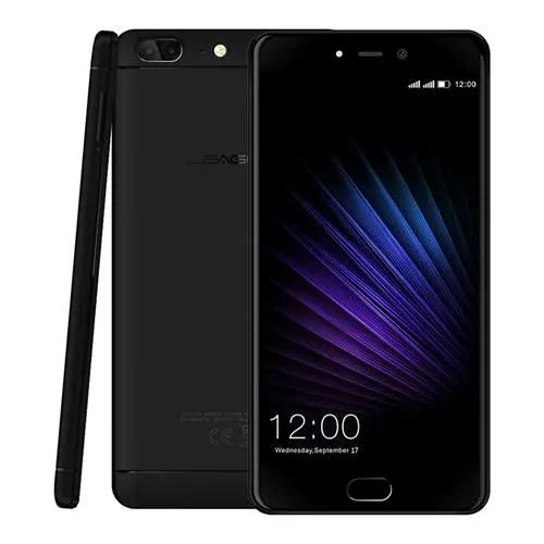 geekbuying Leagoo T5 MTK6750T 1.5GHz 8コア BLACK(ブラック)