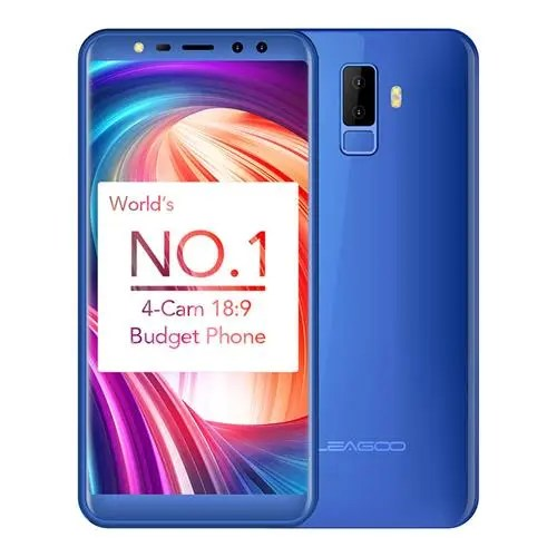 geekbuying LEAGOO M9 3G MTK6580A 1.3GHz 4コア BLUE(ブルー)