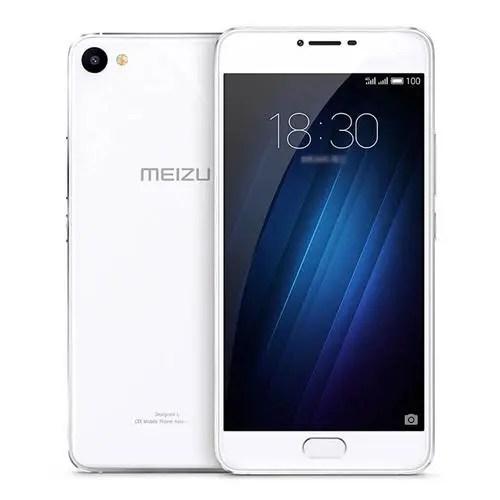 geekbuying MEIZU U20 MTK6755 Helio P10 1.8GHz 8コア WHITE(ホワイト)