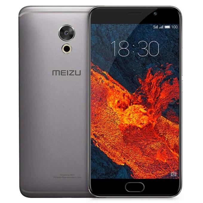 geekbuying MEIZU Pro 6 Plus EXYNOS 8890 2.0GHz 8コア GRAY(グレイ)
