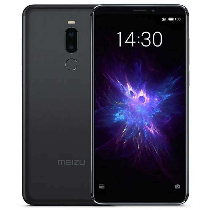geekbuying Meizu Note 8 Snapdragon 632 SDM632 BLACK(ブラック)