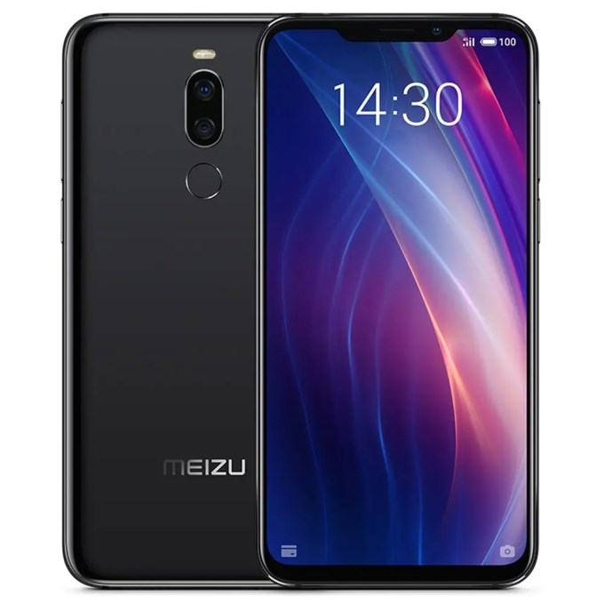 geekbuying Meizu X8 Snapdragon 710 2.2GHz 8コア BLACK(ブラック)