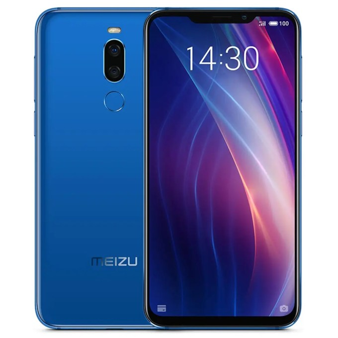geekbuying Meizu X8 Snapdragon 710 2.2GHz 8コア BLUE(ブルー)
