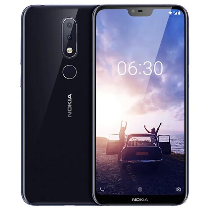 geekbuying NOKIA X6 Snapdragon 636 SDM636 8コア BLACK(ブラック)