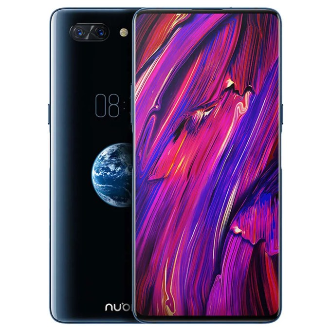 geekbuying Nubia X Snapdragon 845 SDM845 2.8GHz 8コア GREY(グレイ)