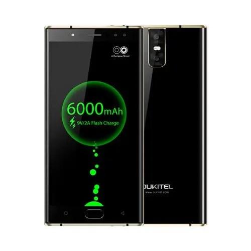 geekbuying Oukitel K3 MTK6750T 1.5GHz 8コア BLACK(ブラック)