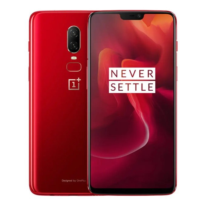 geekbuying OnePlus 6 Snapdragon 845 SDM845 2.8GHz 8コア RED(レッド)