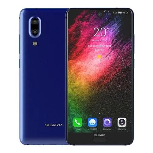 geekbuying SHARP S2 Snapdragon 630 SDM630 2.2GHz 8コア BLUE(ブルー)