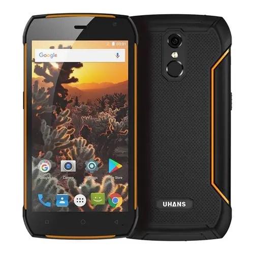 geekbuying UHANS K5000 MTK6753 1.3GHz 8コア ORANGE(オレンジ)