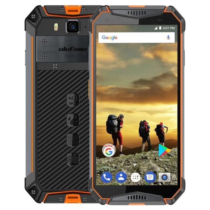 geekbuying Ulefone Armor 3 MTK6763 Helio P23 2.0GHz 8コア ORANGE(オレンジ)
