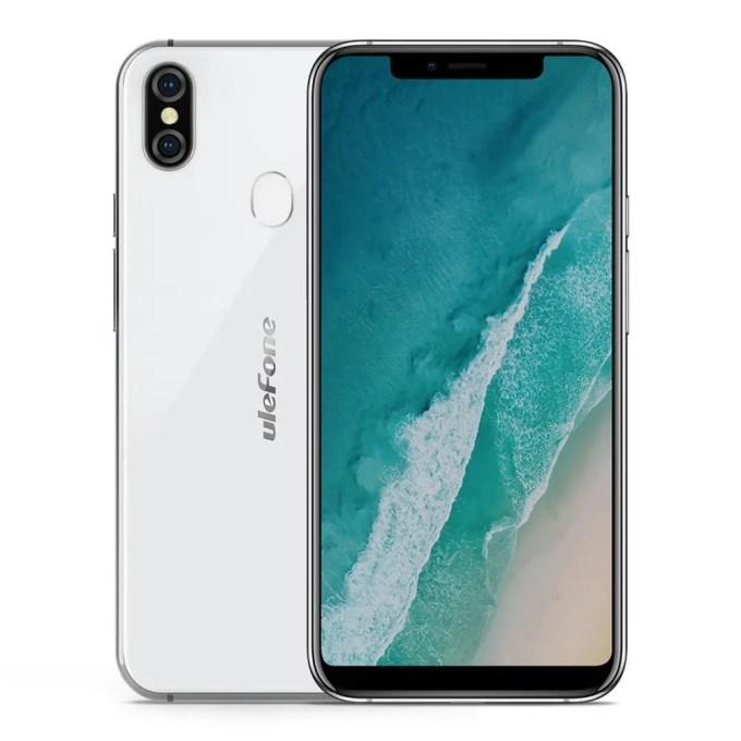 geekbuying Ulefone X MTK6763 Helio P23 2.0GHz 8コア WHITE(ホワイト)