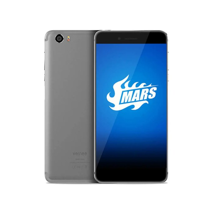 geekbuying Vernee Mars MTK6755 Helio P10 2.0GHz 8コア GRAY(グレイ)