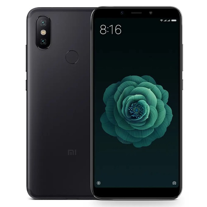 geekbuying Xiaomi Mi 6X Snapdragon 660 MSM8956 Plus 2.2GHz 8コア BLACK(ブラック)