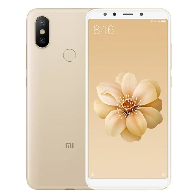 geekbuying Xiaomi Mi 6X Snapdragon 660 MSM8956 Plus 2.2GHz 8コア GOLD(ゴールド)
