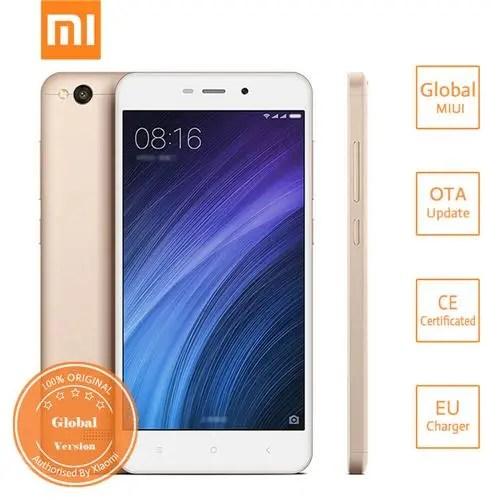 geekbuying Xiaomi Redmi 4A Snapdragon 425 MSM8917 1.4GHz 4コア GOLD(ゴールド)