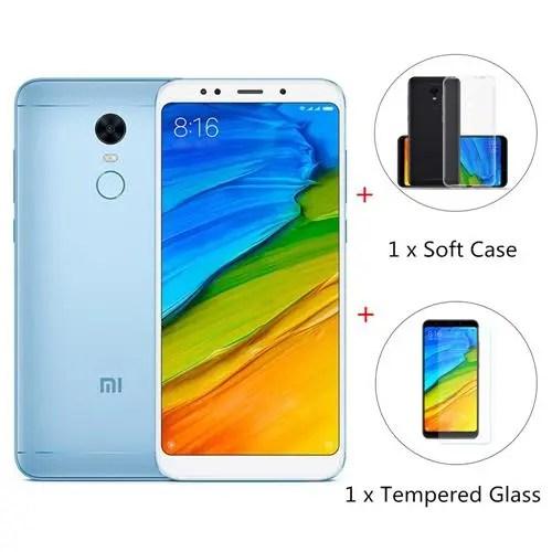 geekbuying Xiaomi Redmi 5 Plus Snapdragon 625 MSM8953 2.0GHz 8コア BLUE(ブルー)