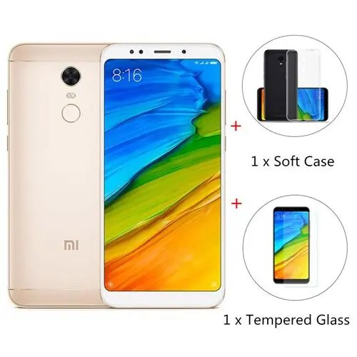 geekbuying Xiaomi Redmi 5 Plus Snapdragon 625 MSM8953 2.0GHz 8コア GOLD(ゴールド)