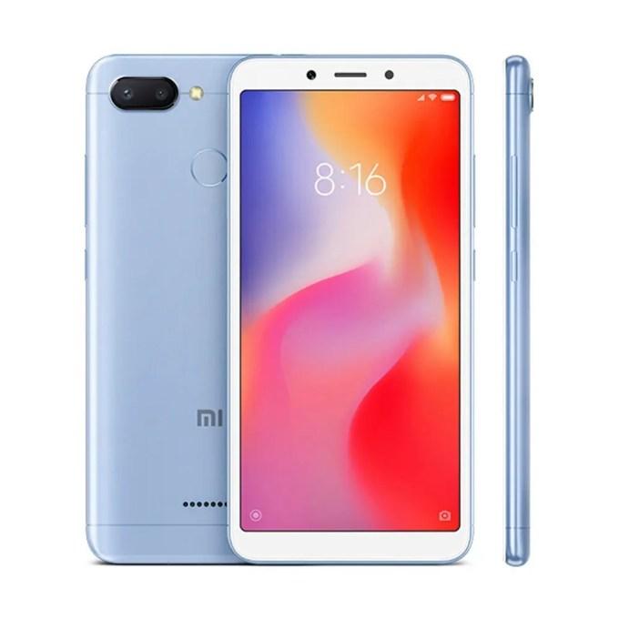 geekbuying Xiaomi Redmi 6 MTK6762 Helio P20 2.0GHz 8コア BLUE(ブルー)