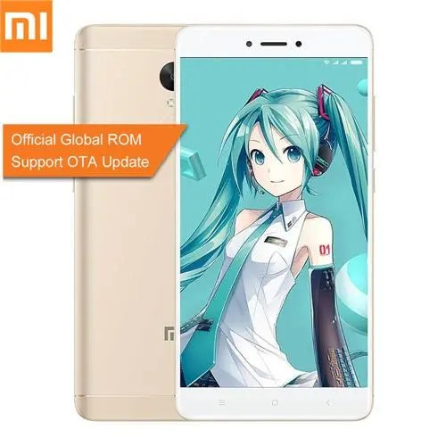 geekbuying Xiaomi Redmi Note 4X Snapdragon 625 MSM8953 2.0GHz 8コア,MediaTek Helio X20 2.3GHz Deca Core GOLD(ゴールド)