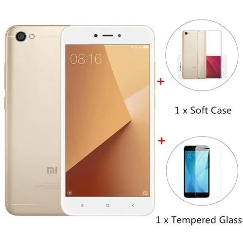 geekbuying Xiaomi Redmi Note 5A Snapdragon 435 MSM8940 1.4GHz 8コア GOLD(ゴールド)