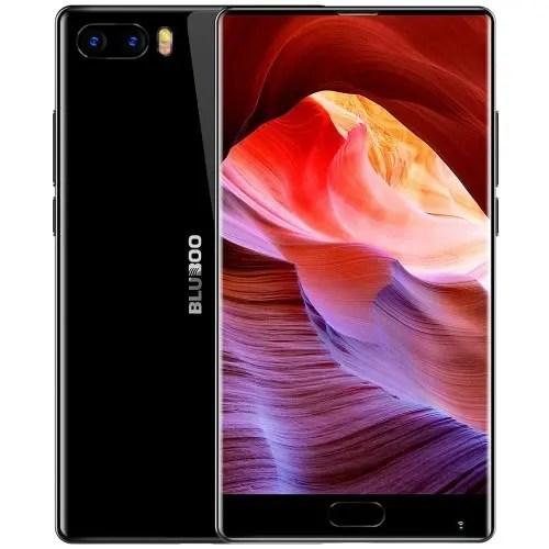 tomtop Bluboo S1 MTK6757 Helio P20 2.3GHz 8コア BLACK(ブラック)