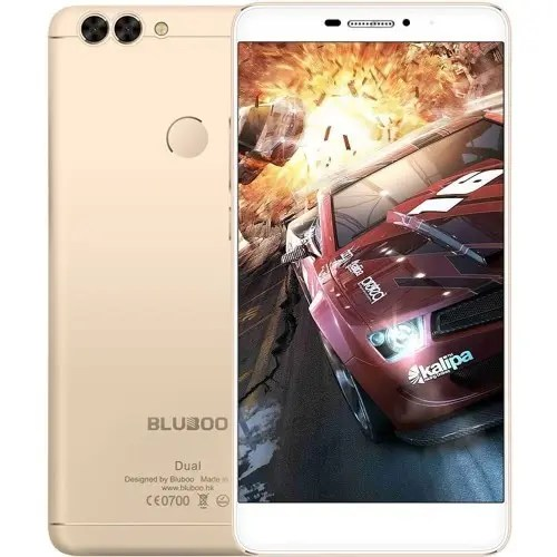 tomtop BLUBOO Dual MTK6737T 1.5GHz 4コア GOLD(ゴールド)