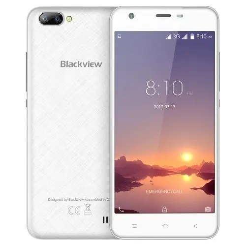 tomtop Blackview A7 3G MTK6580A 1.3GHz 4コア WHITE(ホワイト)