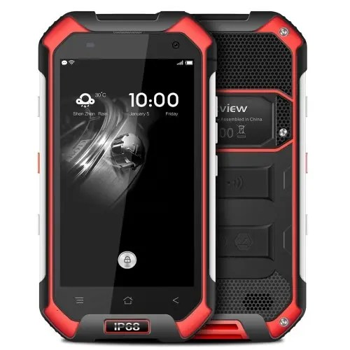 tomtop Blackview BV6000S MTK6735 1.3GHz 4コア RED(レッド)