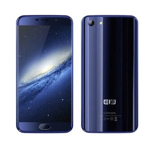 tomtop Elephone S7 MTK6797 Helio X20 2.0GHz 10コア BLUE(ブルー)