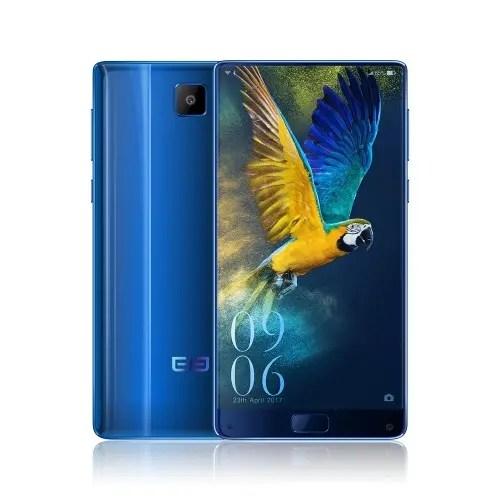 tomtop Elephone S8 MTK6797 Helio X25 2.5GHz 10コア BLUE(ブルー)