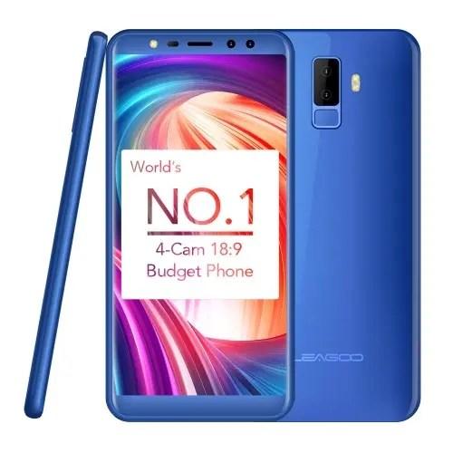 tomtop LEAGOO M9 3G MTK6580A 1.3GHz 4コア BLUE(ブルー)