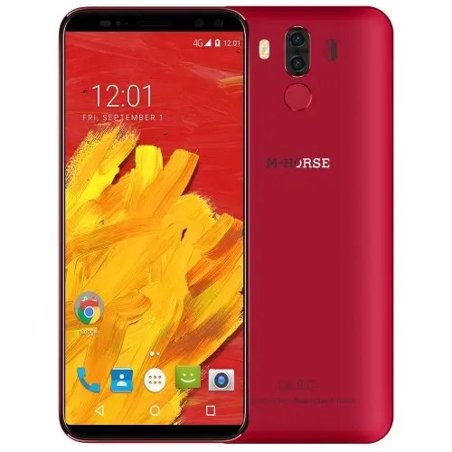 tomtop M-HORSE Pure 3 MTK6763 Helio P23 2.0GHz 8コア RED(レッド)