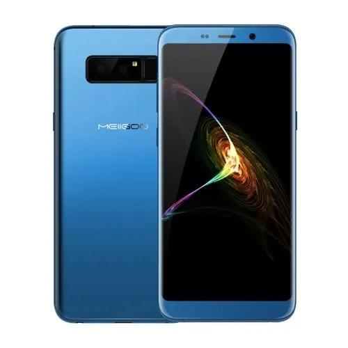 tomtop MEIIGOO Note 8 MTK6750T 1.5GHz 8コア BLUE(ブルー)