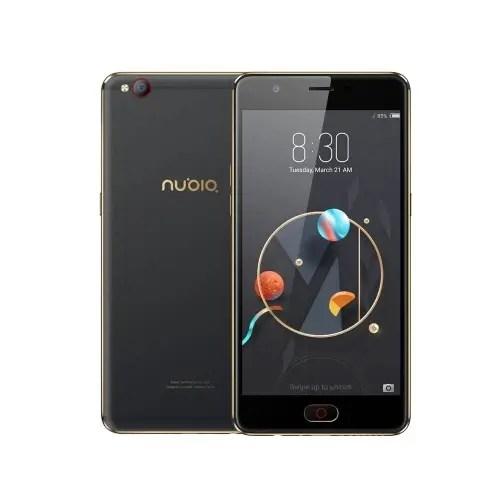 tomtop ZTE Nubia M2 Lite MTK6750 1.5GHz 8コア BLACK(ブラック)