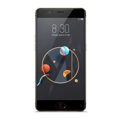 tomtop Nubia M2 Snapdragon 625 MSM8953 2.0GHz 8コア BLACK(ブラック)