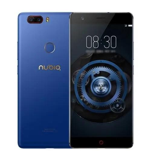 tomtop ZTE Nubia Z17 Lite Snapdragon 653 MSM8976SG 1.8GHz 8コア BLUE(ブルー)