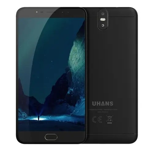 tomtop UHANS Max 2 MTK6750T 1.5GHz 8コア BLACK(ブラック)