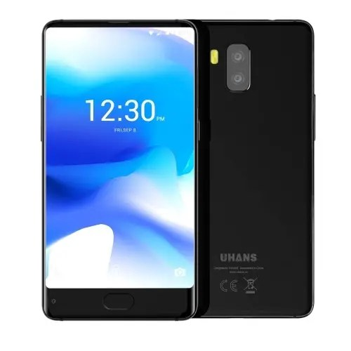 tomtop UHANS MX 3G MTK6580 1.3GHz 4コア BLACK(ブラック)