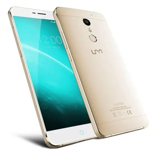 tomtop UMI Super MTK6755 Helio P10 2.0GHz 8コア GOLD(ゴールド)