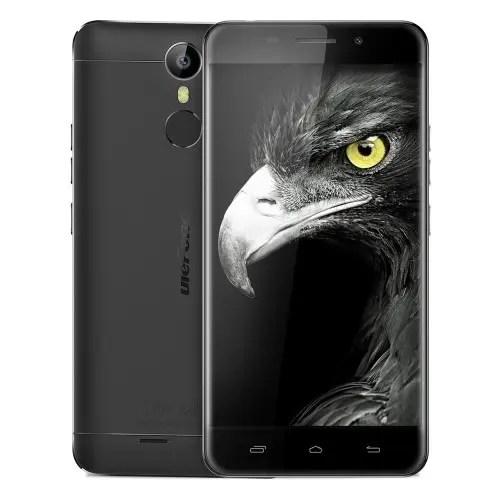 tomtop Ulefone Metal MTK6753 1.3GHz 8コア BLACK(ブラック)