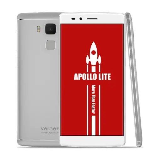 tomtop Vernee Apollo Lite MTK6797 Helio X20 2.3GHz 10コア SILVER(シルバー)