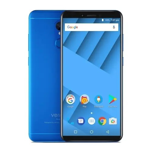 tomtop Vernee M6 MTK6750 1.5GHz 8コア BLUE(ブルー)