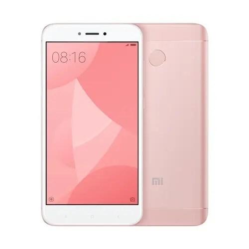 tomtop Xiaomi Redmi 4X Snapdragon 435 MSM8940 1.4GHz 8コア PINK(ピンク)