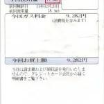 2011/2月分17.6立法で9282円