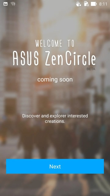 ZenCircleは写真共有アプリみたい。インスタグラムのようなやつかな?