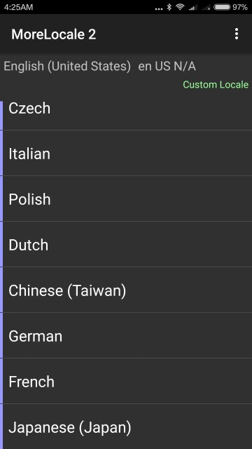 一番下にJapaneseがある。
