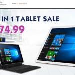 【Banggood】Chuwi Tablet クーポンセール 最新・中華タブレット 最大20%オフ