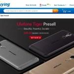 【EverBuying】5.5インチ中華スマホ Ulefone Tiger $99.99 プレセール 激安エントリーモデル