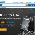 【EverBuying】5インチ防水・防塵IP67 中華スマホ Doogee T5 Lite フラッシュセール
